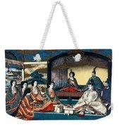 Wedding Of Crown Prince Yoshihito And Princess Kujo Sadako, 1900 Weekender Tote Bag