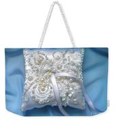 Wedding Ring Pillow. Ameynra Beadwork Weekender Tote Bag