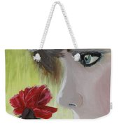 Wedding Rose Weekender Tote Bag by J Bauer