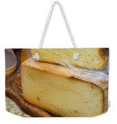 Wedges Of Ripe Cheese Wrapped Weekender Tote Bag
