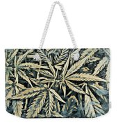 Weed Abstracts Four Weekender Tote Bag