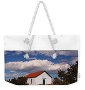 Weekender Tote-cloud Covered Light Station Weekender Tote Bag
