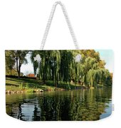 Weepin Willows Frankenmuth Cass River Weekender Tote Bag