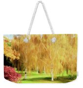 Weeping White Birch Weekender Tote Bag