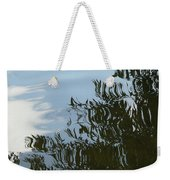 Weeping Willow Reflection Weekender Tote Bag