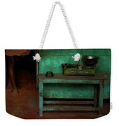 Weighing It Out Weekender Tote Bag