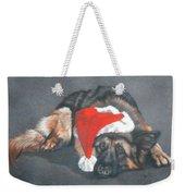 Weihnachtshund Weekender Tote Bag
