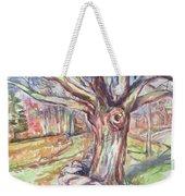 Weir Farm Oak Tree Weekender Tote Bag