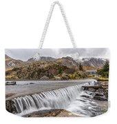 Weirs Rapids Snowdonia Weekender Tote Bag