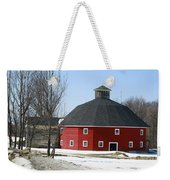 Welch Round Barn Weekender Tote Bag