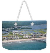 Welcome Aboard Surf City Topsail Island Weekender Tote Bag