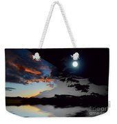 Welcome Beach Day And Night 2 Weekender Tote Bag