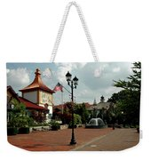 Welcome Center At Frankenmuth Weekender Tote Bag