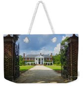 Welcome To Boone Hall Weekender Tote Bag