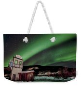Welcome To Dawson City Weekender Tote Bag