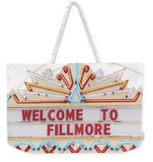 Welcome To Fillmore- Photography By Linda Woods Weekender Tote Bag