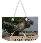 Welcome To Fort Stockton Weekender Tote Bag