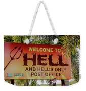 Welcome To Hell Weekender Tote Bag