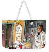 Welcome To Italy 04 Weekender Tote Bag by Miki De Goodaboom