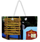 Welcome To Labadee Weekender Tote Bag