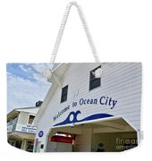 Welcome To Ocean City Maryland Weekender Tote Bag