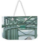 Welcome To Oregon Weekender Tote Bag