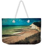 Welcome To Saltdean An Imaginary Postcard Weekender Tote Bag