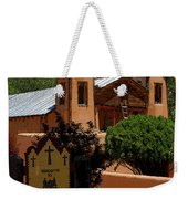 Welcome To Santuario De Chimayo Weekender Tote Bag