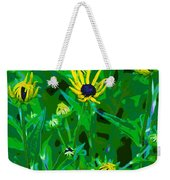 Welcome To The Garden Weekender Tote Bag