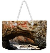 Welcome To The Grotto Weekender Tote Bag