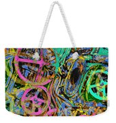 Welcome To The Machine Green Weekender Tote Bag