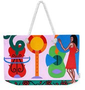 Welcome To The Show Weekender Tote Bag
