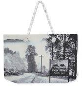 Welcome To Twin Peaks Weekender Tote Bag