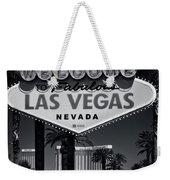 Welcome To Vegas Xi Weekender Tote Bag