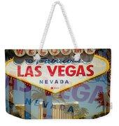 Welcome To Vegas Xiii Weekender Tote Bag