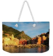 Welcome To Vernazza Weekender Tote Bag