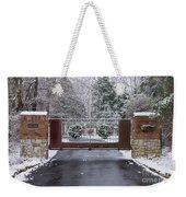 Welcome To Winter Weekender Tote Bag