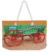 Woodland Park, Colorado, The City Above The Clouds, Elevation 8500 Feet, 2590 Meters Above Sea Level Weekender Tote Bag