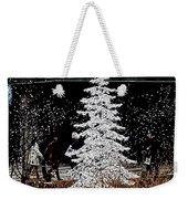 Welcome Winter Weekender Tote Bag