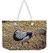 Well Plumed Bird Weekender Tote Bag