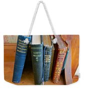 Well Worn ... Well Read ... Well ... Weekender Tote Bag