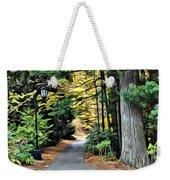 Wellesley College Walkway Weekender Tote Bag