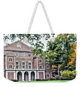 Wellesley College Walsh Alumni Hall Weekender Tote Bag