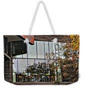 Wellesley College Wang Campus Center Detail Weekender Tote Bag
