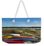 Wellfleet Harbor Cape Cod Weekender Tote Bag