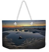Wells Beach Solitude Weekender Tote Bag