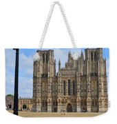 Wells Cathedral Weekender Tote Bag