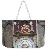 Wells Cathedral Outside Clock Weekender Tote Bag