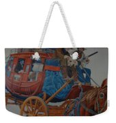 Wells Fargo Stagecoach Weekender Tote Bag