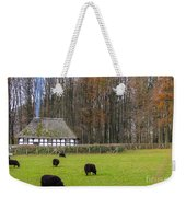 Welsh Farmhouse Weekender Tote Bag